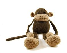 Ravelry: Jerry the Musical Monkey pattern by Rebecca Danger