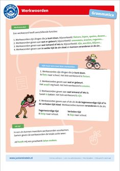 Voltooid deelwoord Spelling For Kids, Learn Dutch, Classroom Expectations, Einstein, Language, Teaching, Writing, Tips, Honey