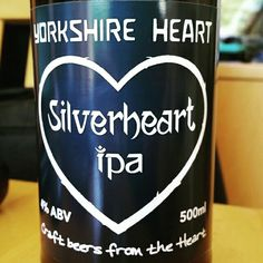 Silverheart IPA by Yorkshire Heart