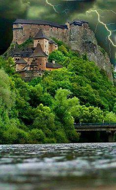 .. Oravský hrad , Slovensko