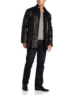 Cole Haan Men's Smooth Leather Carcoat, Black, Small Cole Haan,http://www.amazon.com/dp/B00BPDFXGM/ref=cm_sw_r_pi_dp_TIistb0TZ70EFTYF