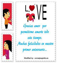 versos de aniversario de novios,descargar mensajes de aniversario: http://www.consejosgratis.es/mensajes-para-mi-novio-por-el-primer-ano-de-relacion/