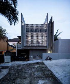 Casa minimax adaptable en Lembang / eben