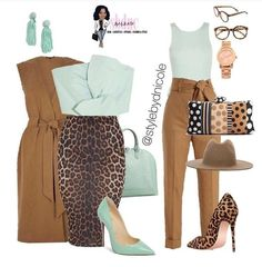 Love the colors curvy girl fashion, plus size fashion, love fashion, womens Style Outfits, Classy Outfits, Fall Outfits, Casual Outfits, Fashion Outfits, Womens Fashion, Fashion Trends, Women's Summer Fashion, Work Fashion