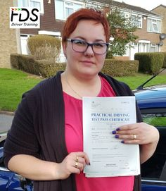 Congratulations to Ella Rzesos who passed her practical Driving Test on the 7th March 2017. Very well done and best wishes from your Driving Instructor Steve and all of us here at Flexdrive Driving School.  Ella had driving lessons in Wellingborough with Flexdrive Driving School. #drivinglessons #learntodrive #wellingborough