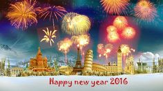 3D} Happy New Year 2016 Wallpapers HD Download, Free for iPhone ...