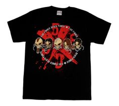 FIVE-FINGER-DEATH-PUNCH-Skull-Faces-Official-T-SHIRT-Brand-New-S-M-L-XL-2XL