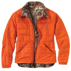 CARHARTT Woodsville 'Reversible' Jacket - The Brown Duck