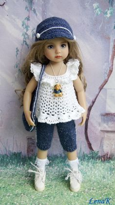 "OOAK OUTFIT FOR DOLLS 13"" Dianna Effner Little Darling and Betsy McCall 14"" #"