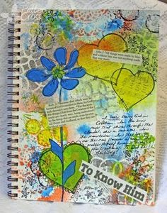 Triple the Scraps: Art {Journaling} My Favorite Supplies & a Page by Patter Cross