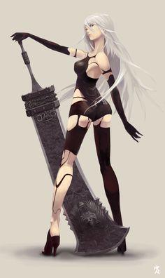 Anime-nier-yorha-type-a-no2-NieR-Automata-3172503.png (426×716)