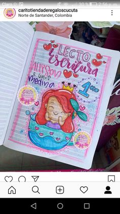 Notebook Art, School Notes, Draw, Lettering, Cover, Manual, Cool Stuff, Instagram, Diary Ideas