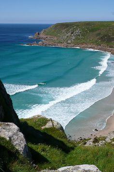 Gwynver beach near Sennen, Cornwall, England
