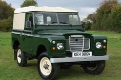 """1974 LAND ROVER SERIES III 2.3 88"""" HARD TOP for sale 