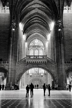 Liverpool Cathedral: big spaces to remind you of how small you really are