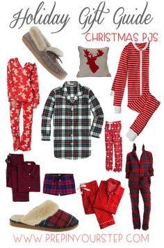 Holiday Gift Guide {Christmas Pajamas}