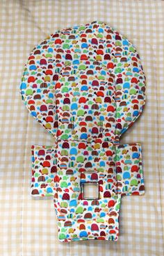 High Chair Cushion, Pad, Evenflo High Chair Cover, Highchair Replacement Pad,  Cushion, Baby Accessory, Baby And Child Care, Feeding, Turtles