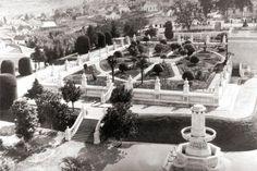 Reservatório São Francisco - inauguração em 24 de agosto de 1908 (foto de 1940)