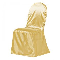 Buy silver satin banquet chair covers for weddings and special events at LinenTablecloth! Create the atmosphere that you like by matching these chair covers with your wedding tablecloths, table runners and other wedding linens. Wedding Tablecloths, Wedding Linens, Wedding Chairs, Wedding Seating, Chair Cover Rentals, Banquet Chair Covers, Banquet Decorations, Satin Bedding, Luxury Chairs