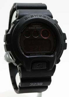 Casio DW-6900MS Black MILITARY G-Shock Watch