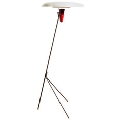 Louis Kalff for Philips NX 38 Floor Lamp, 1957 | From a unique collection of antique and modern floor lamps at https://www.1stdibs.com/furniture/lighting/floor-lamps/