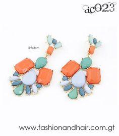 Multi-color earrings-PROMOCIÓN ESPECIAL