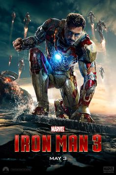 Iron man 3... Loved the midnight premier:)