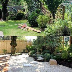 le suivi de la création d'un jardin japonais, de a à z.