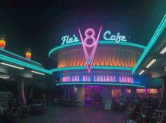 Got Gas?!?!?  #Disney #DisneySide #DisneySideCast #UnforgettableHappensHere #UnforgettableCast #Cars #Disneyland #Dlr #Disneyland60 #Disneyland60th #DiamondCelebration #diamondcelebration by beast_disney_guy