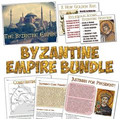 This time-saving bundle includes 7 great resources for teaching about the Byzantine Empire!