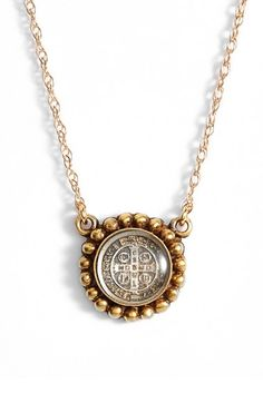 Free shipping and returns on Virgins Saints & Angels 'Piccolo Magdalena' Charm Necklace at Nordstrom.com. An intricate cross medallion lends antique-inspired style to abeautifully handcrafted charm necklacefinished with a beautifultrim.