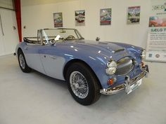 *SOLD* 1966 Austin-Healey 3000 Mark III BJ8     Absolute gorgeous Austin-Healey 3000 Mark III in fantastic condition and with documented history from new. The car has a British Motor Industry Heritage Trust Certificate and the original invoice from December 19, 1966 signed by the manufacture Donald Healey Motor Company Limited in Warwick, England, both documents will be included in the sale.  - K225 Warwick England, Austin Healey, Motor Company, Motor Car, Cars For Sale, Classic Cars, Automobile, British, Vehicles