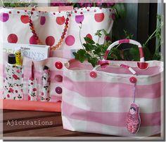 ©Marimerveille sac atelier nomade et son petit complément couture (Création Marimerveille)