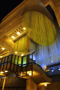 Arquitectura, Centro Latinoamericano de Acción Social por la Música. Caracas, Venezuela, obra de gran belleza