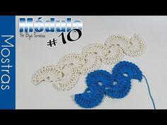 Bya Ferreira - Crochet Designer: Galeria de Módulos   Módulo #10