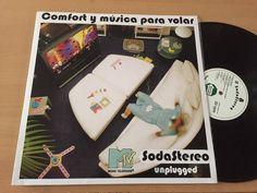 Soda Stereo COMFORT Y MUSICA PARA VOLAR Vinyl LP UNPLUGGED Amazing! EX/NM #LatinPopRockenEspaol