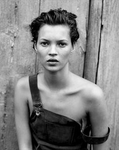 Kate Moss 90s dungarees