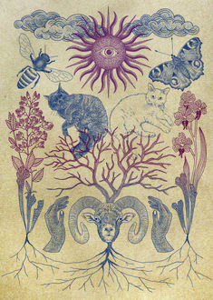 365cat.art【命 / LIFE 】#illust #design #動物イラスト #虫イラスト #cat #イラスト #猫デザイン #猫イラスト #細密画 #猫の絵 #おしゃれイラスト Vintage World Maps, Illustration, Animals, Arts And Crafts, Animales, Animaux, Animal, Illustrations, Animais