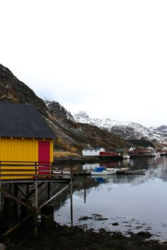 Ballstad, Norway is the largest fishing village in the Lofoten Islands.  Picturesque & peaceful.