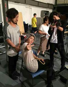 Nob, Hiroki & Teru acting like Bad Boys