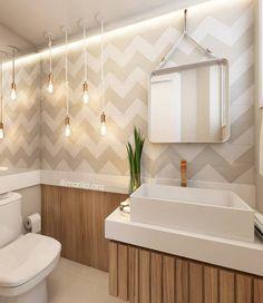 Lavabo: Banheiros escandinavos por Marilia Zimmermann Arquitetura e Interiores