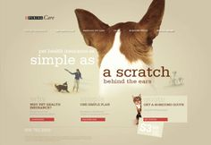 """Purina """"So Simple"""" Direct Sales Microsite Concept by Eric Bryning, via Behance Pet Health Insurance, Insurance Quotes, Direct Sales, Behance, Concept, Marketing, Pets, Simple, Behavior"""