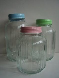 Painting jar lids would be a cool way to organizing your food storage jars. Be sure to wait 8 hours after painting though before using them.