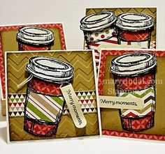 {scrap and stamp with mary}: Stamp Review Crew: Perfect Blend Edition