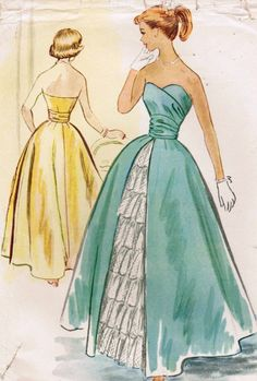 Super cute vintage dress pattern