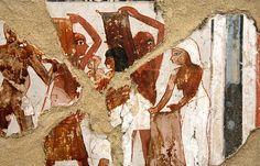 Museo Egipcio de Turín , Fragmentos de la tumba tt246 de Senenra (?). Dinastia XVIII, 1350-1292 A.C. | by Soloegipto