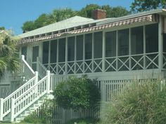 Old-Style Tybee Beach House