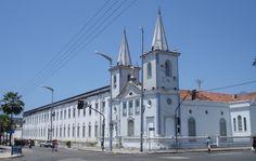 Fortaleza, Ceará, Brasil - Seminário e igreja de Nossa Senhora da Conceição da Prainha