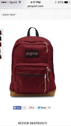Viking red  wine red JanSport vintage backpack Sac Jansport d2b14f92d1e3c