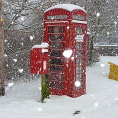Winter England